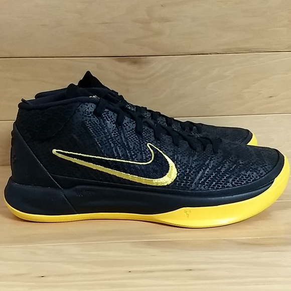 uk availability c1716 4c200 Nike Kobe AD BM Size 8.5 Black Mamba AQ5164-001